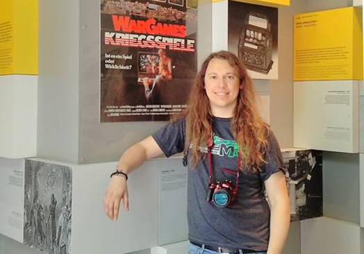 Me at the Computerspielemuseum in Berlin